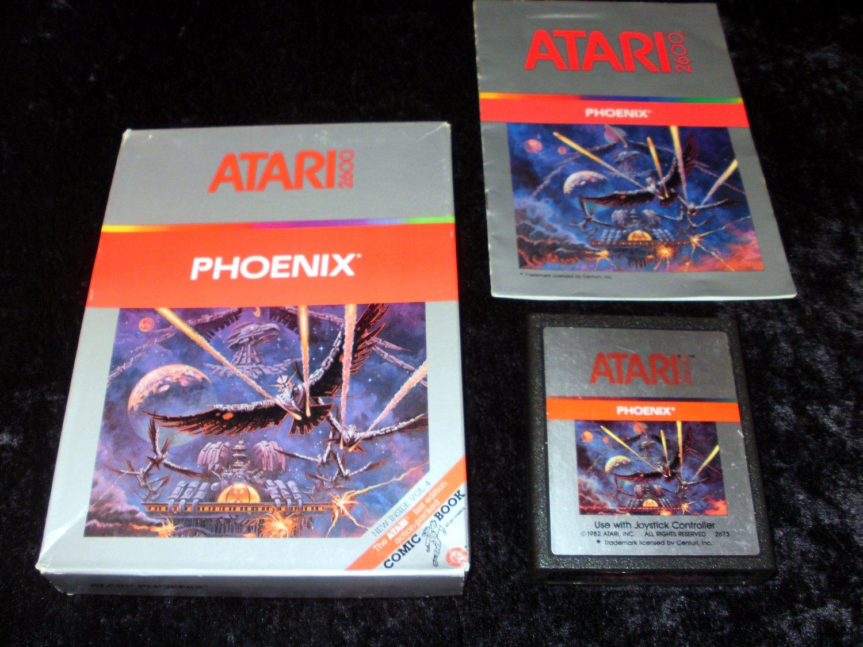 Phoenix - Atari 2600 - Complete CIB