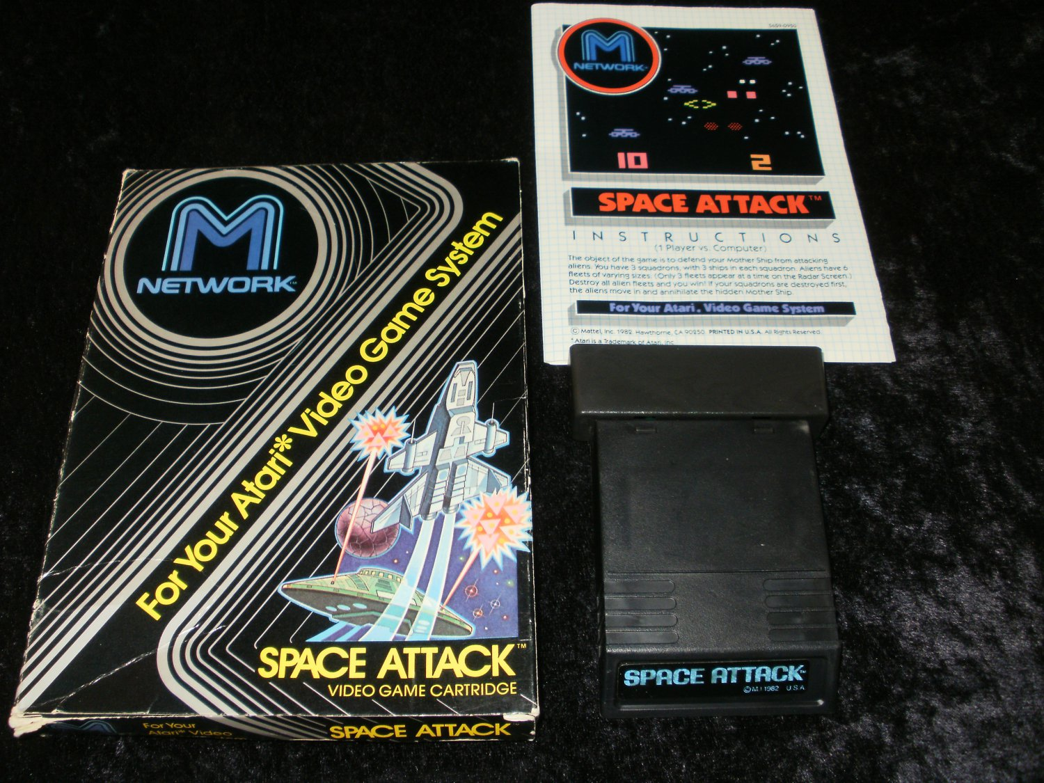Space Attack - Atari 2600 - Complete CIB
