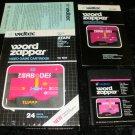 Word Zapper - Atari 2600 - Complete CIB