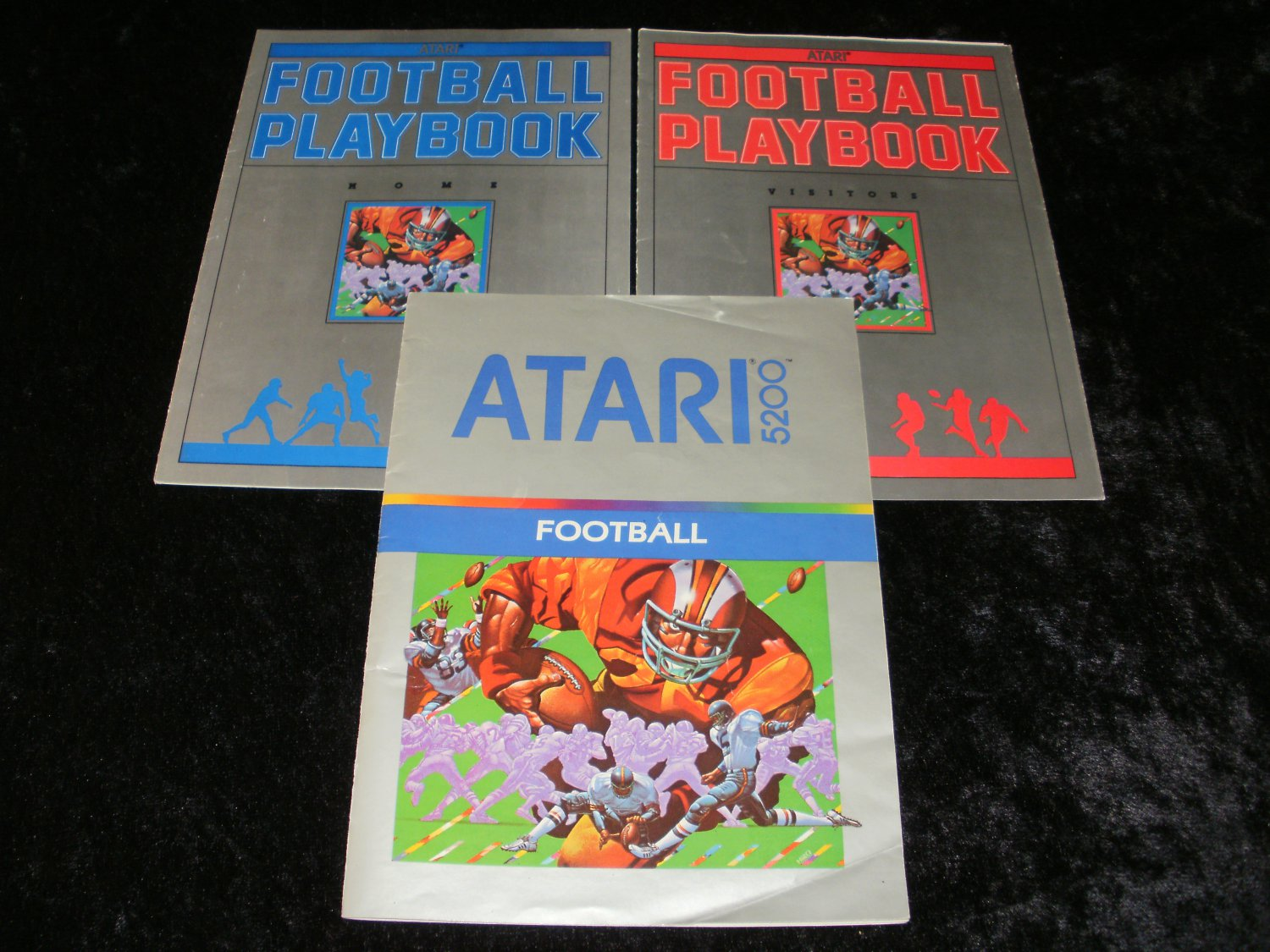 Football - Atari 5200 - Manual & Playbooks Only
