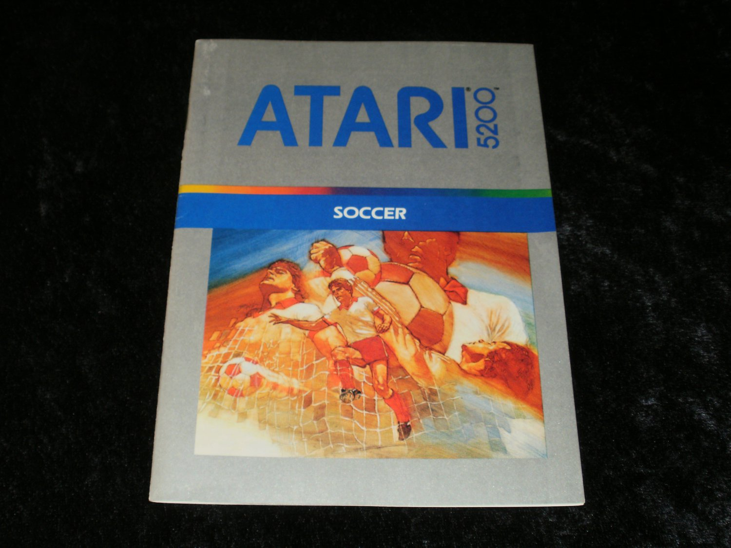 Soccer - Atari 5200 - Manual Only