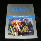 Missile Command - Atari 5200 - Manual Only
