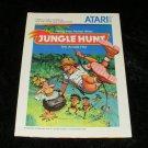 Jungle Hunt - Atari 5200 - Manual Only