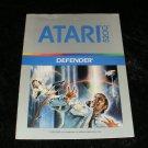 Defender - Atari 5200 - Manual Only