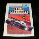 Pole Position - Atari 5200 - Manual Only