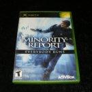 Minority Report Everybody Runs - Xbox - Complete CIB
