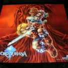 Sword of Mana Poster - Nintendo Power January, 2004 - Never Used