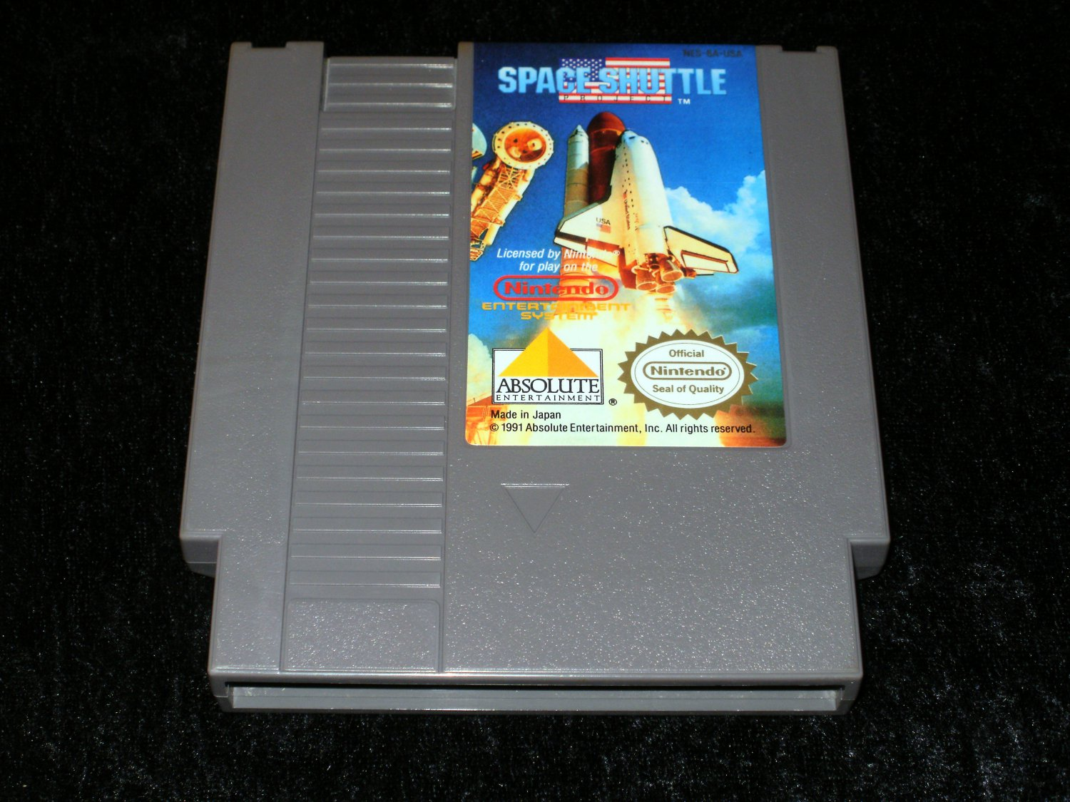 Space Shuttle Project - Nintendo NES - Rare
