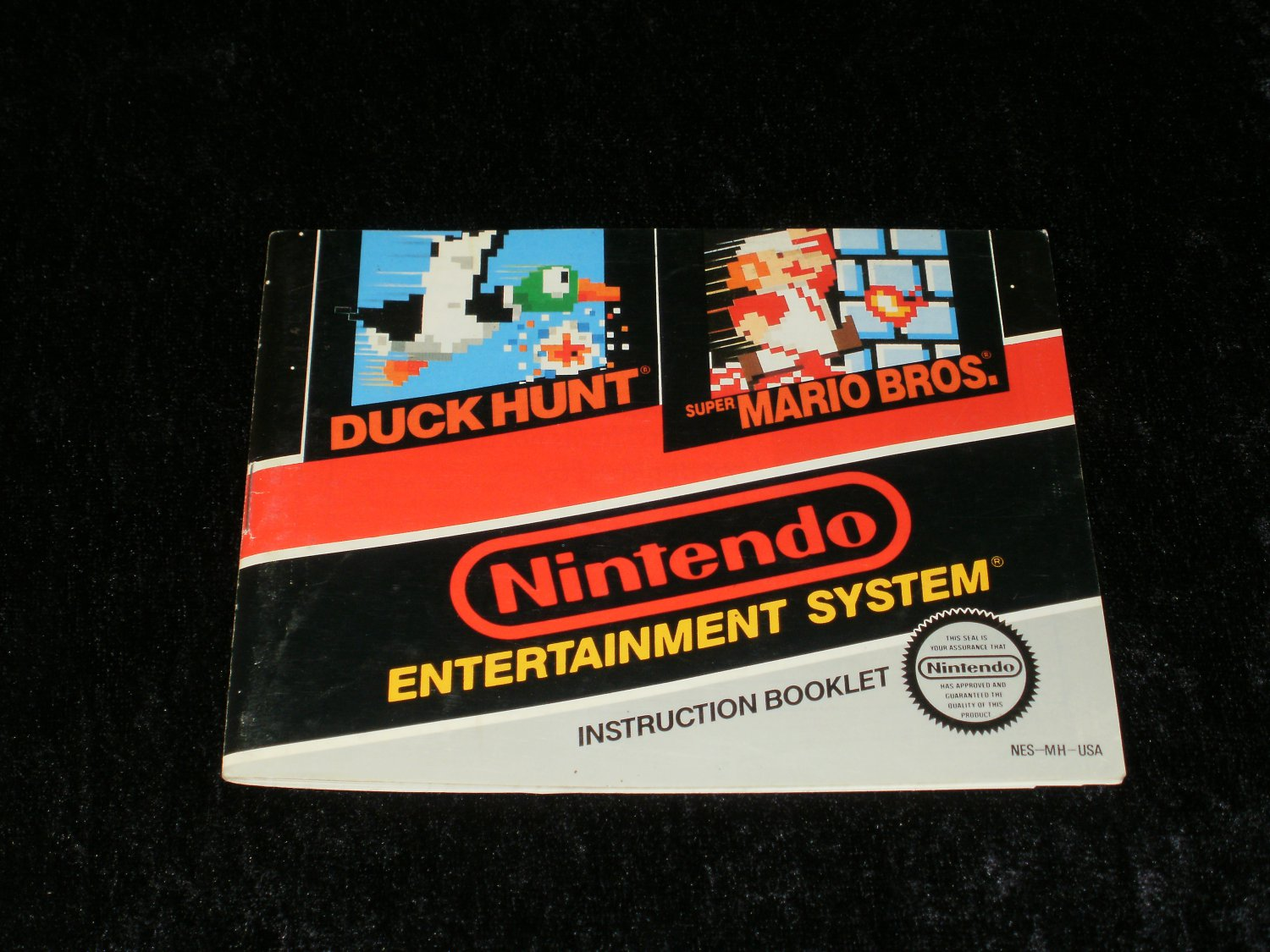 Super Mario Bros Duck Hunt - Nintendo NES - Manual Only