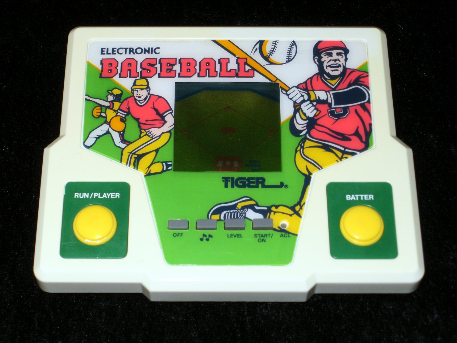 Electronic Baseball - Vintage Handheld - Tiger Electronics 1988 - Refurbished