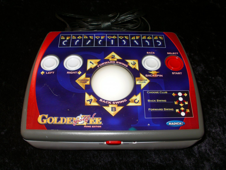 Golden Tee Golf Home Edition - Plug & Play - Mattel 2007