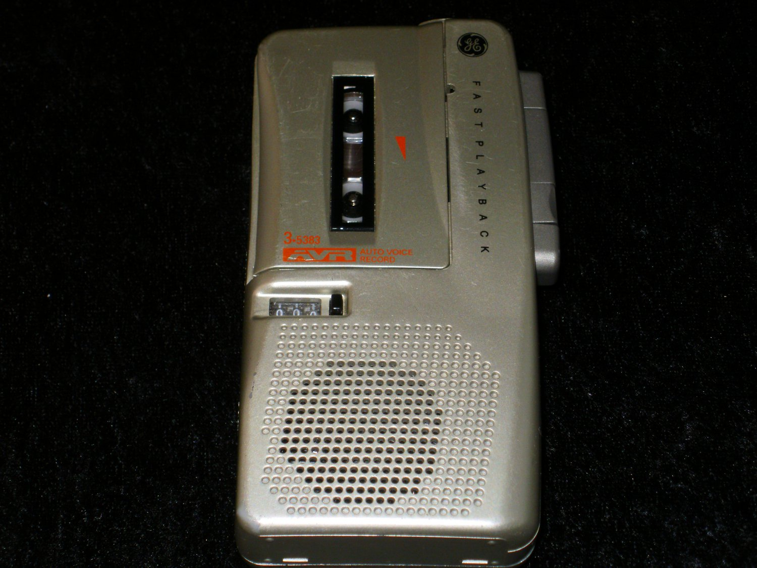Micro Cassette AVR Recorder - General Electric 1999 - With Cassette