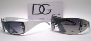 DG Oversized Ultra Stylish Women Sunglasses 2 Pair Lot