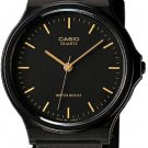Casio Thin Black Analog Watch MQ24-1E NEW