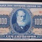 1943 (ND) 100 Cruzeiros Brazil