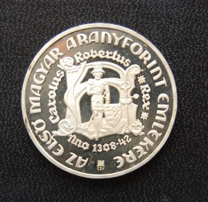 1978 200 forint proof Hungary