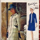 So Mod '69 Vogue Couturier Coatdress by Galitzine UNCUT with LABEL 2023 Vintage Pattern Bust 34