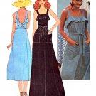 Sassy 70's Back Wrap Sundress McCall's 4541 Vintage Pattern Bust 31.5