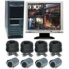 4 Channel Wired Digital Video Recording System