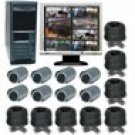 8 Channel Wired Digital Video Recording System