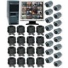 16 Channel Wired Digital Video Recording System