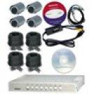 4 Channel Wired VISEC Surveillance System