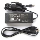 AC Adapter with Power Cord for Sony Laptop VGP-AC19V10 19V 4.74A