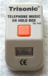 MUSIC ON HOLD BOX, FOR TELEPHONE/PHONE
