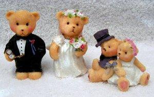 Wedding Bears by Kory's Collection, Teddy Bear Figurine