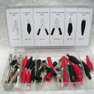 28 Pc. Alligator Clip Set With Storage Case