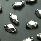 Tibetan Silver 10 Puffed Diamond Spacers
