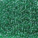 Transparent Luster Green 11/0 Glass Seed Beads 1/4 lb