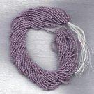 Opaque Lt Purple Czech 11/0 Glass Seed Beads HANK