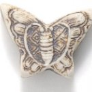 Peruvian Fire Polished Butterfly Beads 15X20mm