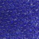Transparent Dk Sapphire  2/0 Czech Glass Seed Beads 30 grams