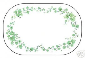 Corelle Callaway Placemats Set of 4 NEW Deco Foam