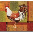 "Gourmet Rooster Cutting Board NEW Temper Glass 12""x15"""