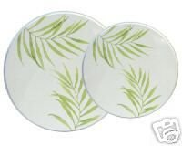 Corelle Bamboo Leaf Stovetop Burner Cover Set NEW