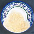 Pfaltzgraff Orleans Turkey Buffet Plates NEW Stoneware