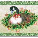 "Gooseberry Wreath Cutting Board NEW Glass 12"" x 15"""