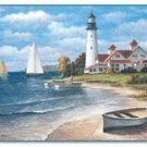 "Lighthouse Cutting Board 15"" x 11.5"" Glass Brand NEW"