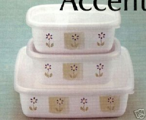 Pfaltzgraff Cloverhill Choices Bake & Save Set 6 Pc NEW
