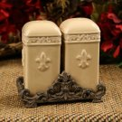 Drake Design Wheat Salt & Pepper Shaker Set NEW 3187