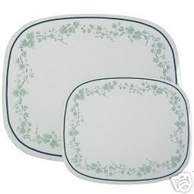 Corelle Callaway Ivy Stove Mats Set of 2 NEW Counter