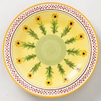 Pfaltzgraff Pistoulet Sunflower Buffet Plate NEW
