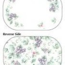 Pfaltzgraff Grapevine Placemats Reversible Set of 6 NEW