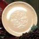 """Drake Design Wheat Round Serving Platter 14"""" Ceramic NU"""
