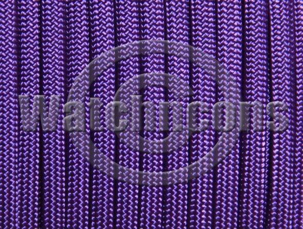25ft Parachute Cord Para Cord 550 lb 7 Strand Military Paracord - Bright Purple