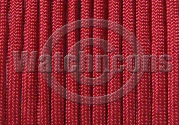 25ft Parachute Cord Para Cord 550 lb 7 Strand Military Paracord - Bright Red