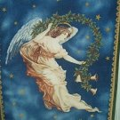 Christmas Guardian Angel Fleece Panel Blanket